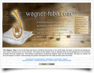 Wagner Tuba website